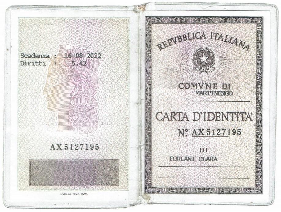 CARTA D'IDENTITA' 2