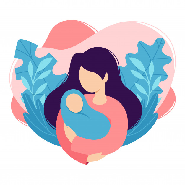 mother-holds-baby-her-arms-woman-cradles-newborn-cartoon-design-health-care-maternity-parenting-isolated-white-background-trendy-flat-style_149670-221